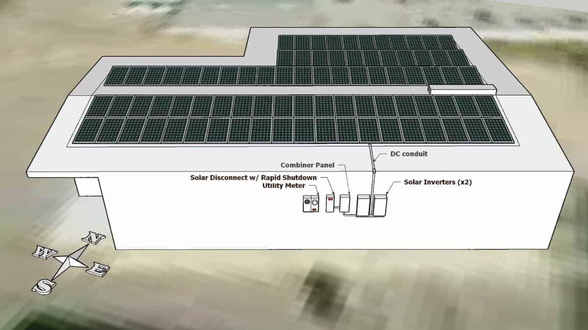Dogwood Animal Clinic Solar Rendering 1