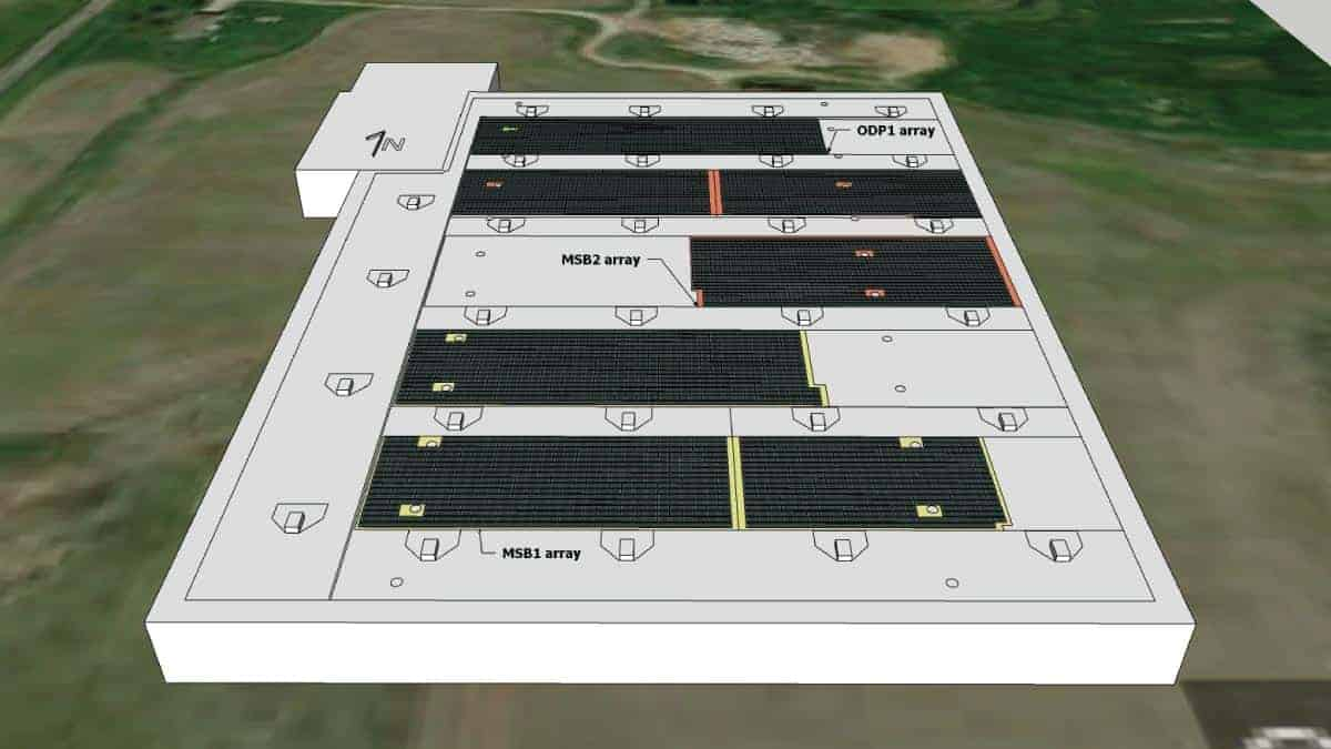Midway USA Solar Rendering Design 1