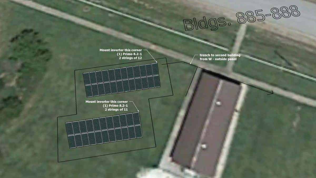National Guard Neosho Solar Rendering 1