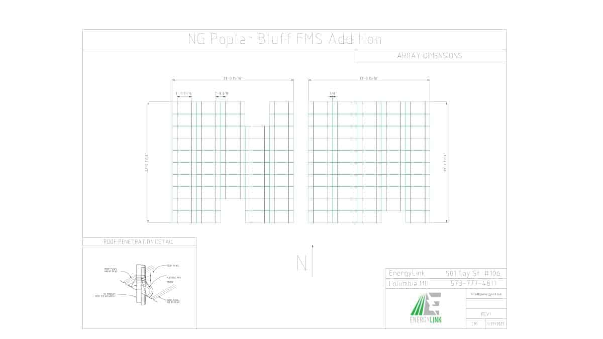 National Guard Popular Bluff Project Schematic Design 1