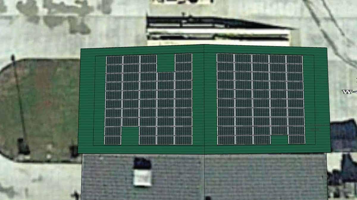 National Guard Popular Bluff Solar Rendering 1