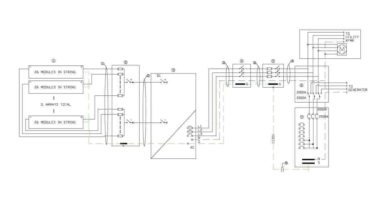 Robertsdale Solar Schematic Design 1
