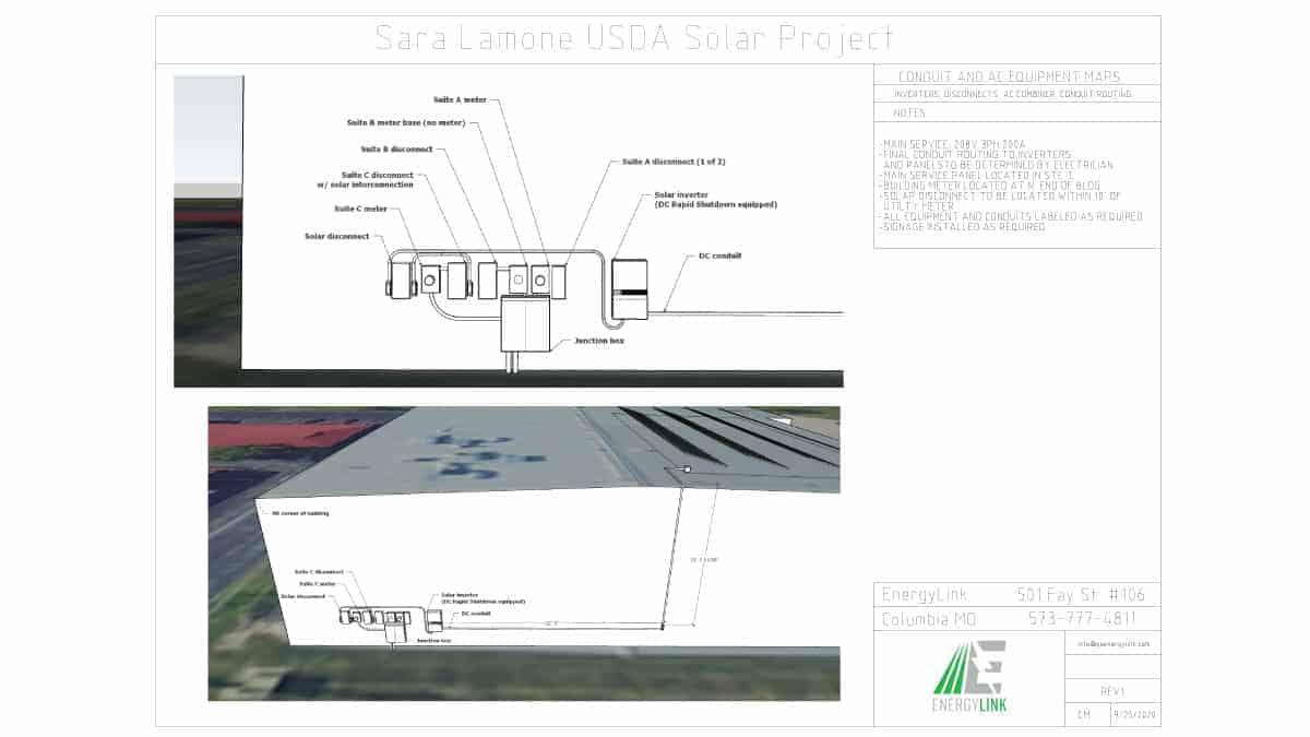 Little Dixie Construction Solar Schematic Design 1