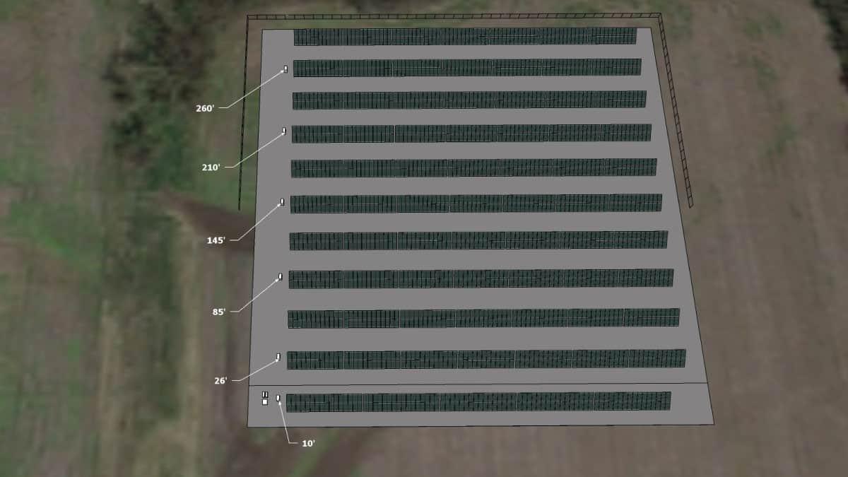 Spring Hill High School Solar Rendering 2