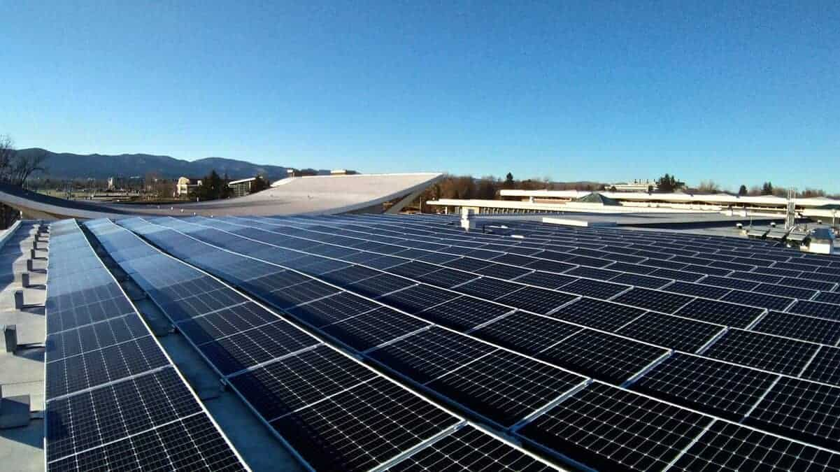 Colorado State University Lory Student Center Solar Install Pic - Solar Install Pic 2