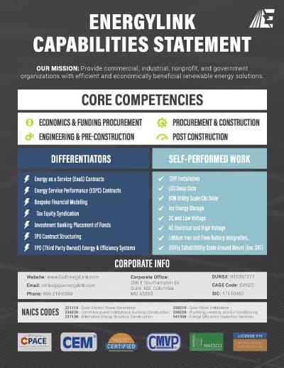 EnergyLink Capabilities Report Snapshot