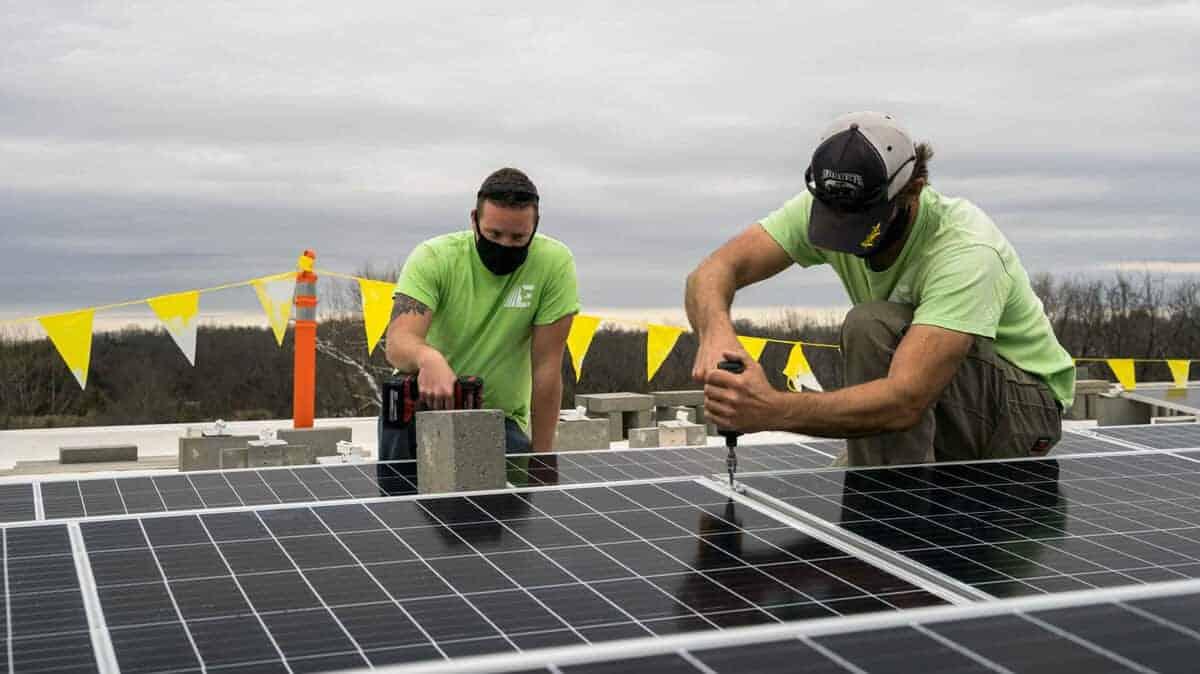 FairCom Solar Installation Pic 2