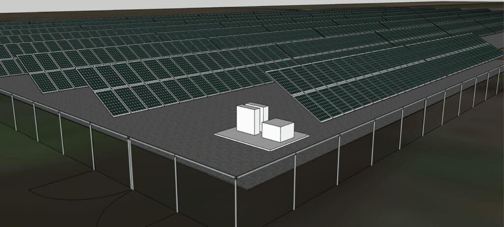 Spring Hill School District Solar Rendering