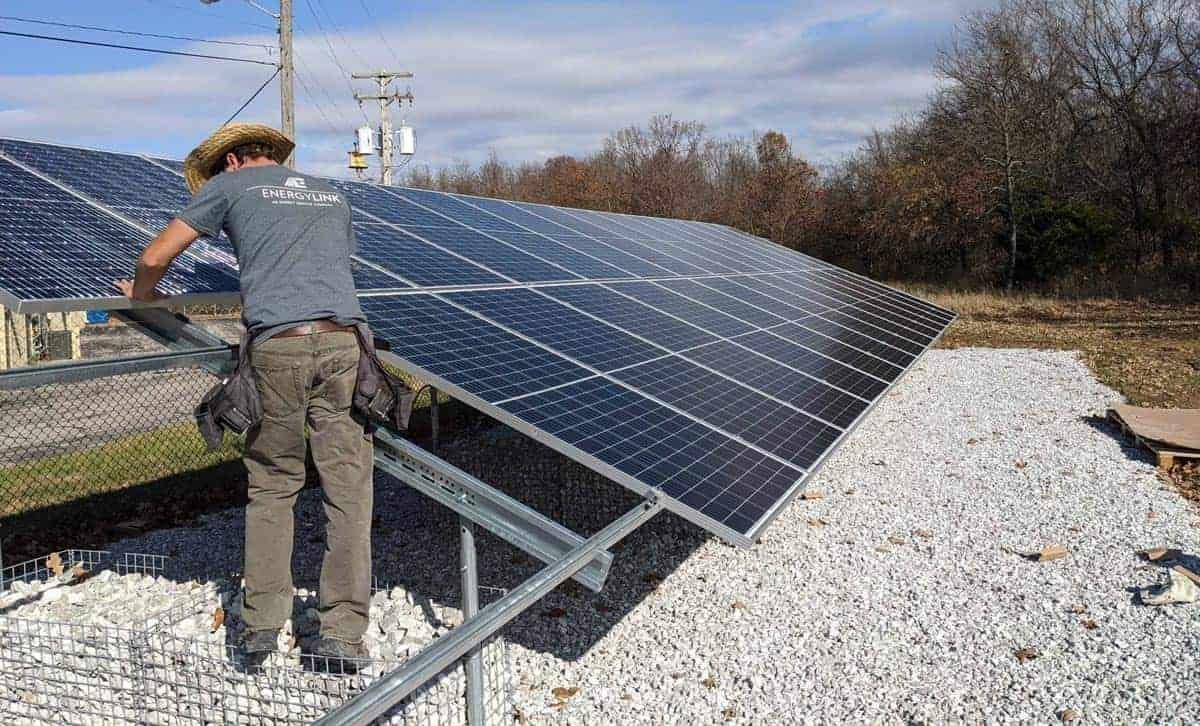 Missouri National Guard Camp Crowder Solar Install Pic 6