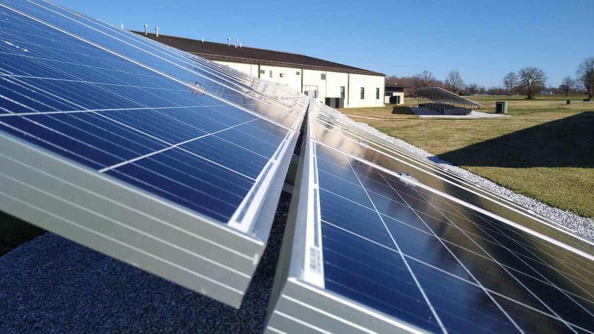 Missouri National Guard Camp Crowder Solar Install Pic 5
