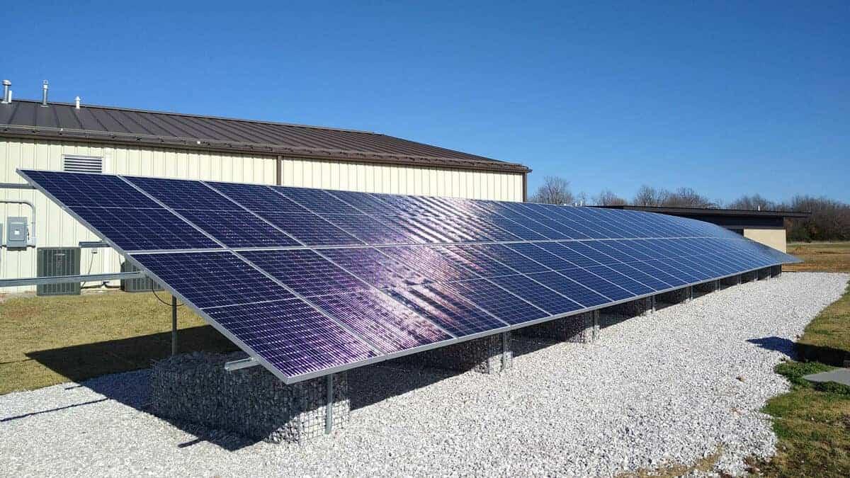Missouri National Guard Camp Crowder Solar Install Pic 4