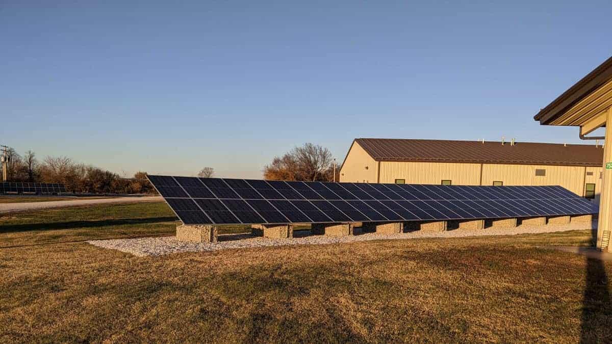 Missouri National Guard Camp Crowder Solar Install Pic 2