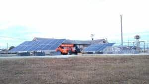 National Guard Neosho Solar Install Pic 3