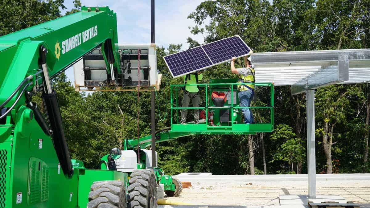 Solar Carport Install