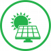 Commercial Solar Panel Icon